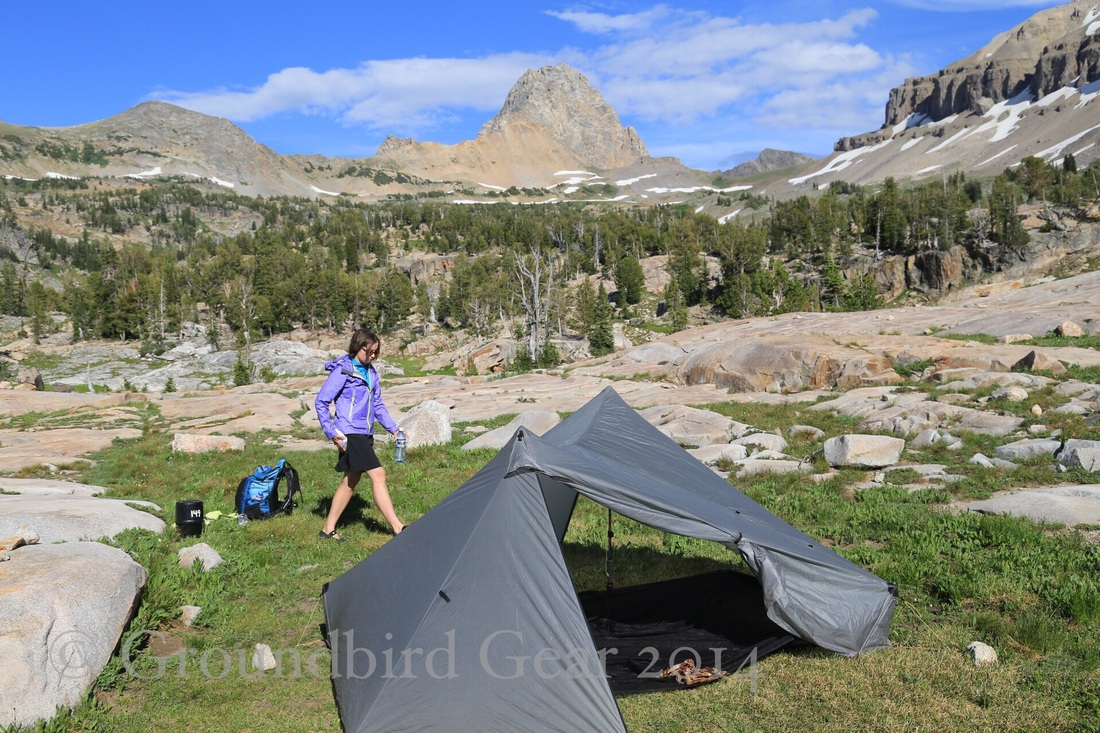 Teton Crest Trail. Groundbird Gear's hiking blog. Tarptent Stratospire