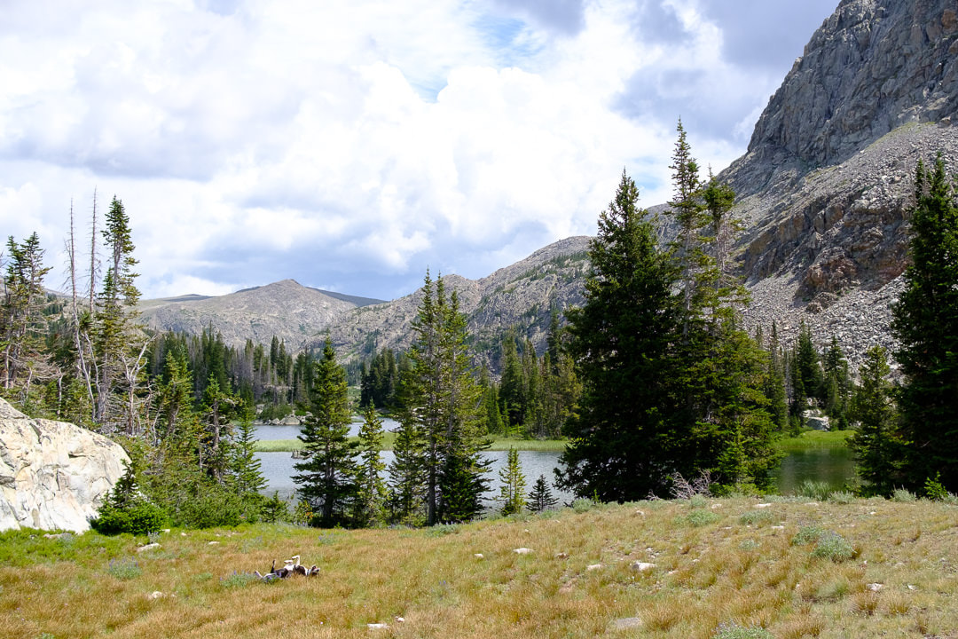 Cliff Lake, Cloud Peak Wilderness. Groundbird Gear blog. All rights reserved
